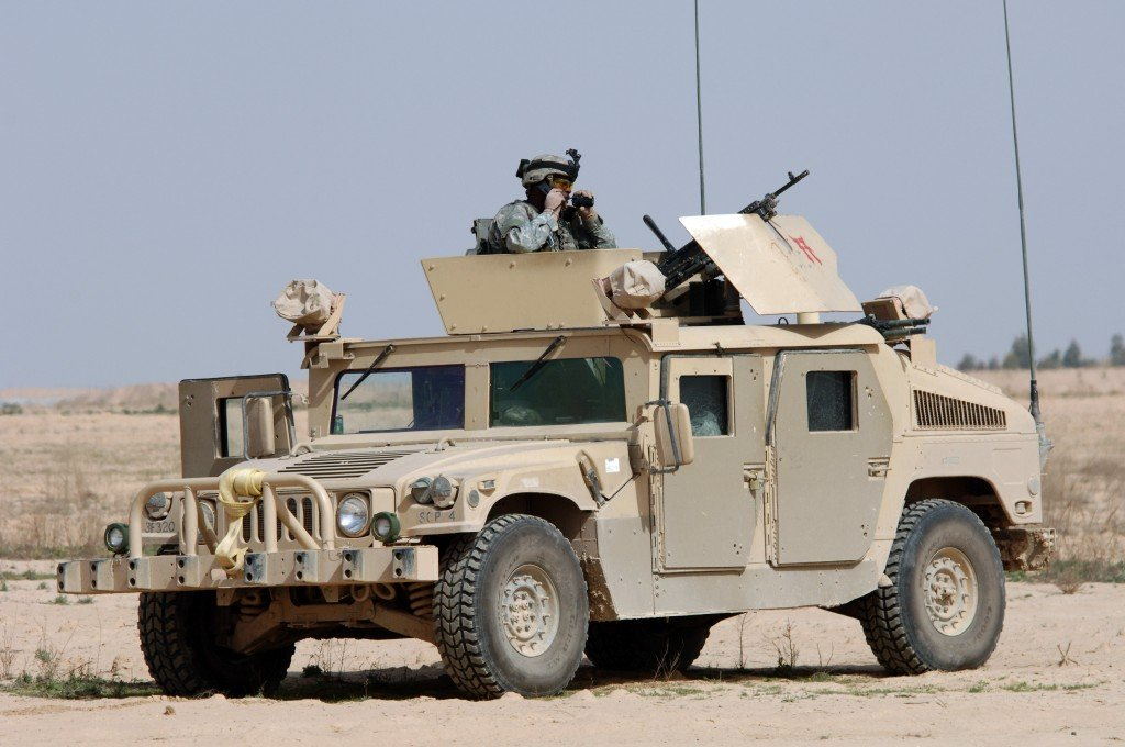 An armored fighting vehicle of the US Army (Image Source: Wikimedia Commons)