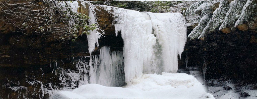 Frozen Waterfall: How Do Waterfalls Freeze Mid-flow?