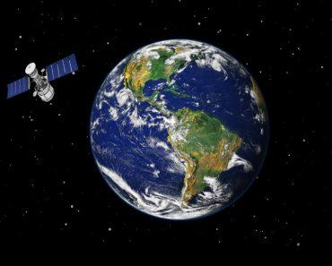 Earth & Satellite
