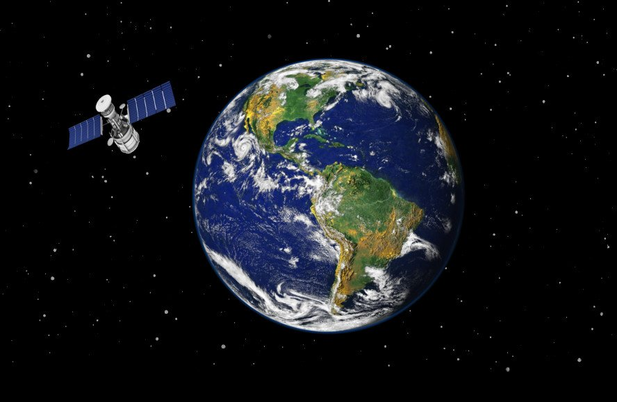 Earth & Satellite