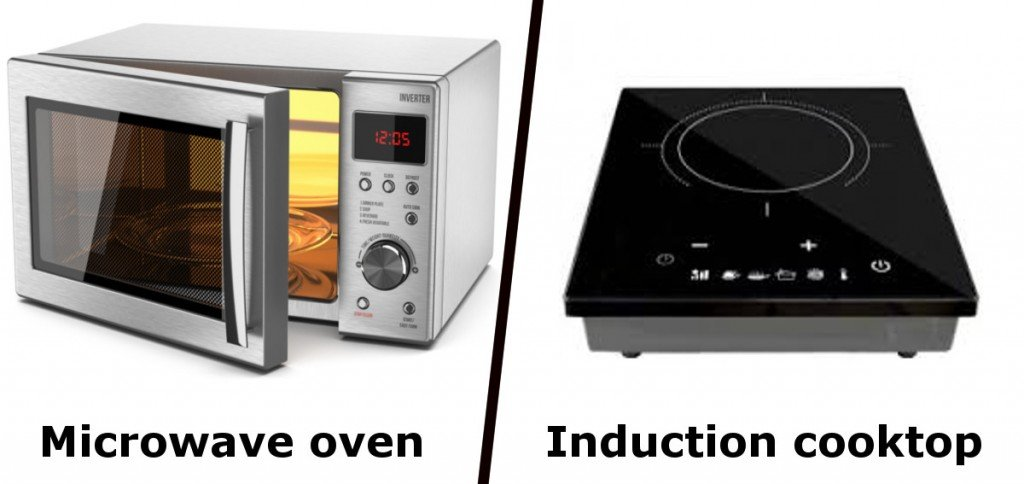 Microwave oven & Induction cooktopMicrowave oven & Induction cooktop