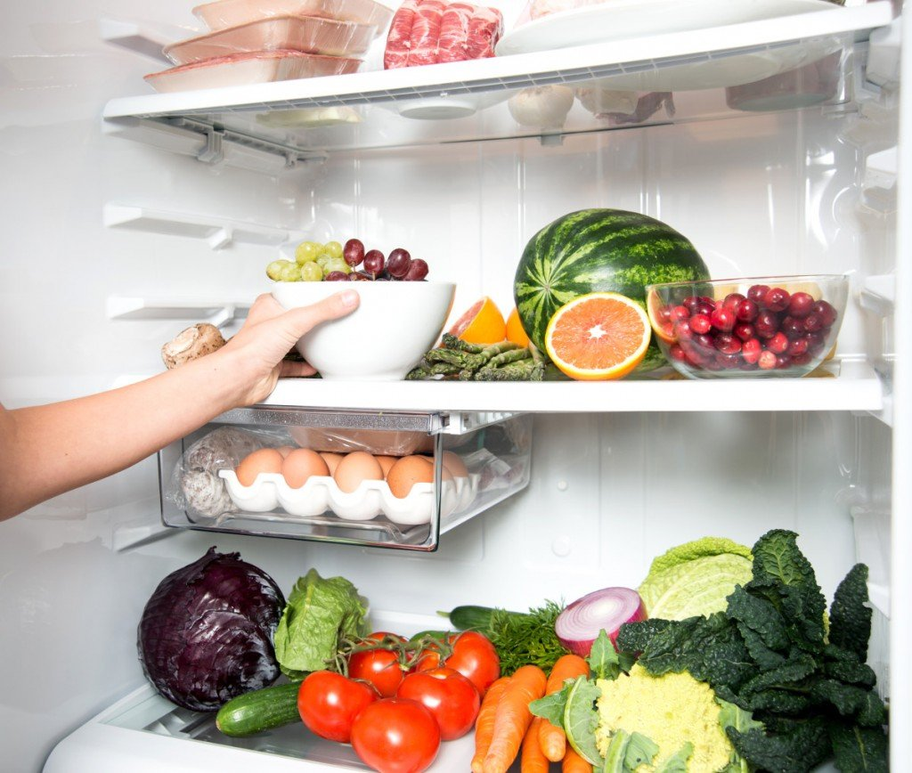 Refrigerator vegetable fruit