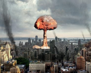 Earthquake by nuclear explosion
