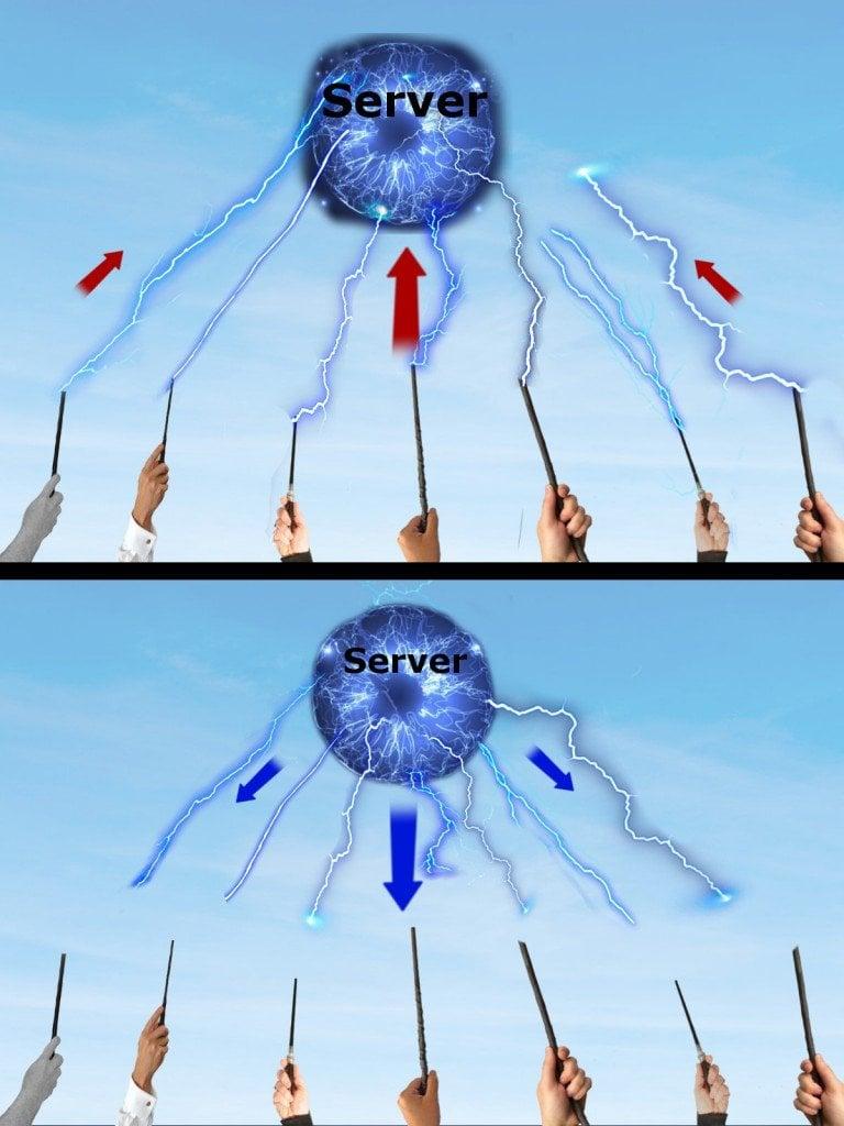croudsourcing illustration