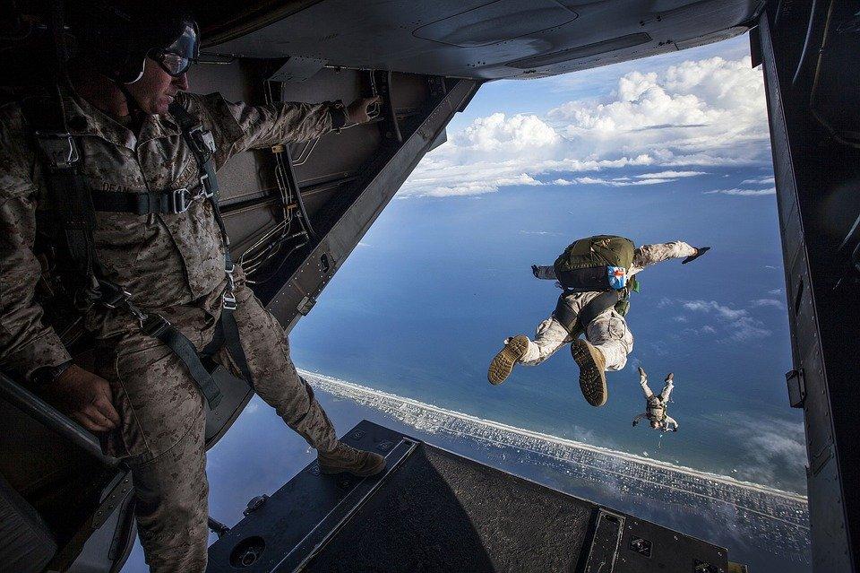 skydiving ramp
