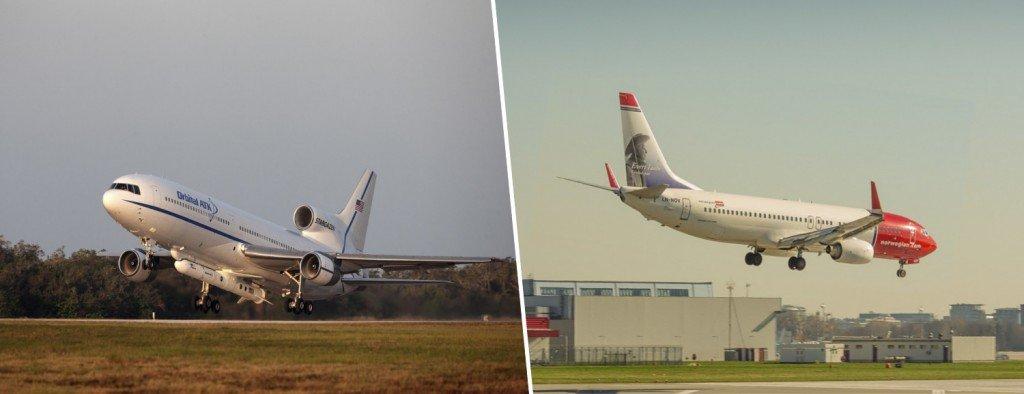 Takeoff & landing airplanes