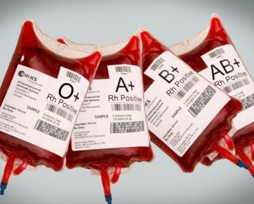 different blood group bags