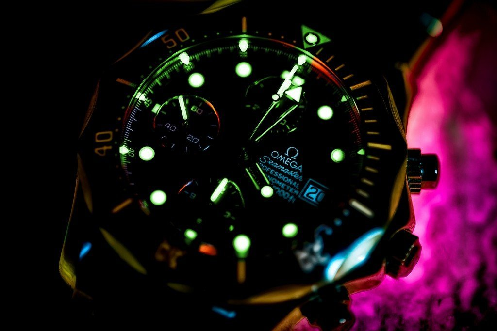 Phosphorescent watch