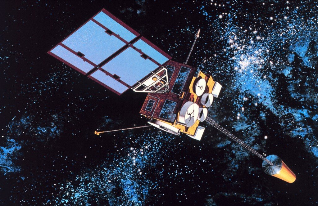 GOES-8, a decommissioned United States weather satellite.