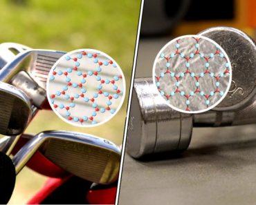 Metallic glass & metallic object structure_