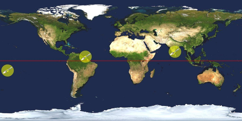 Why Are Rockets Launched From Areas Near The Equator Science Abc