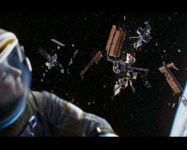 Gravity movie Junk satellite