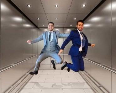 Jumping in elevator