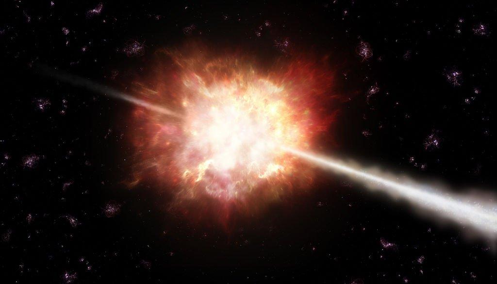 Most distant Gamma ray burst