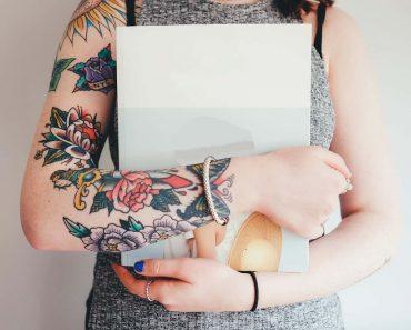 Tattoo on girl hand