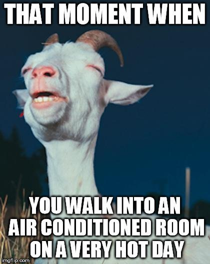 air conditioner meme