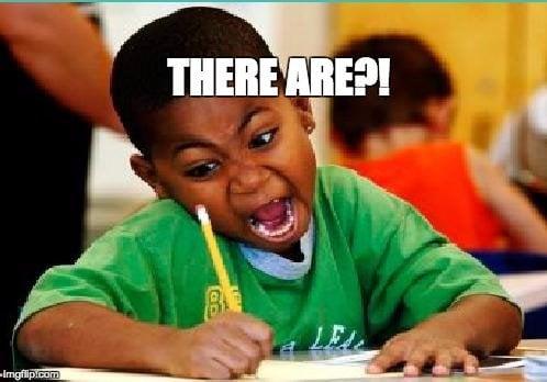 Kid screaming during exam meme