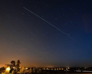 International Space Station Passing