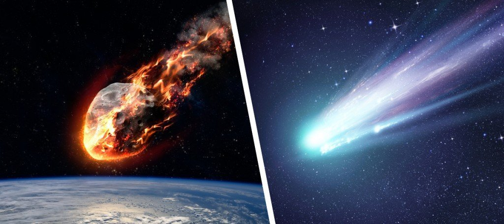 Asteroids vs Comets: What Are The Differences and ...