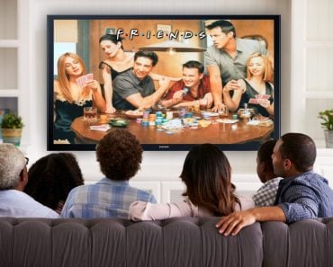 Friends watching friends