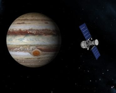 Satelite near jupiter