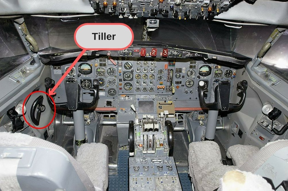 How Do Pilots Steer Their Aircraft While Taxiing On Runways