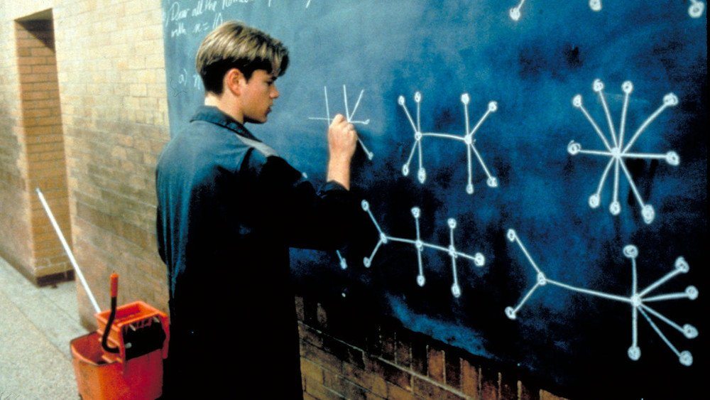 Good Will Hunting Matt demon solving problem without practive