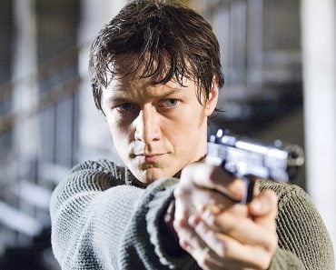James MacAvoy from Wanted (2008 film)