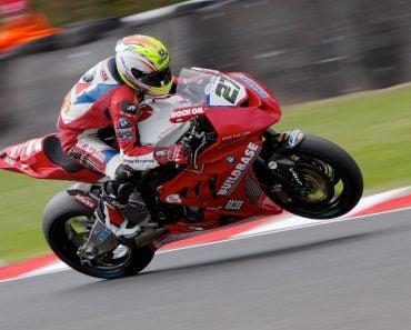 Motorbike in speed