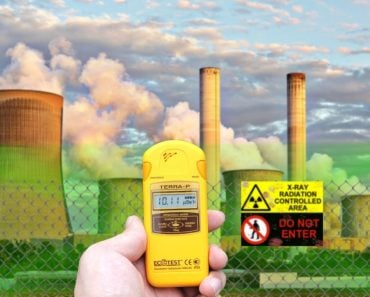 Restricted nuclear radiation area count in radiation counter machine