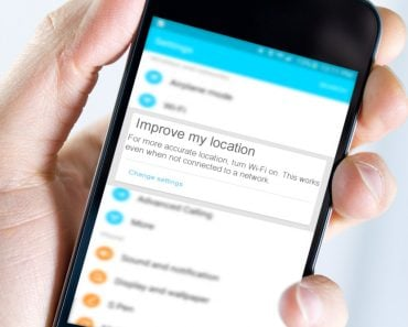Wifi improve the location accuracy of mobile notification in hand