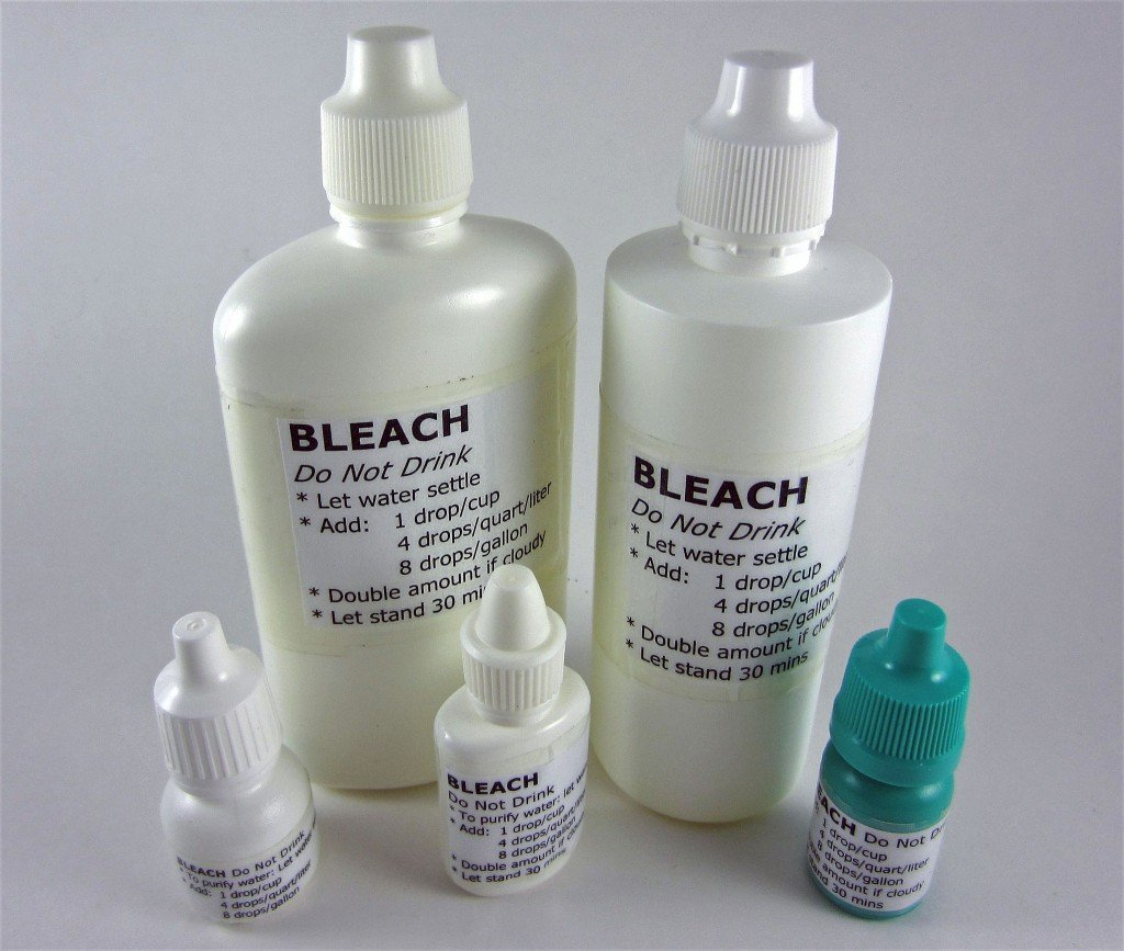 uses of bleaching powder in water