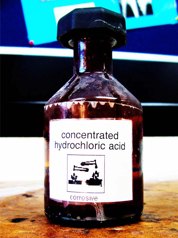 acid strong acids concentrated hydrochloric hcl which strongest most chemistry credit flickr
