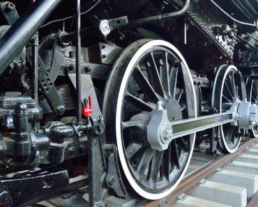 Railway wheel wallpaper
