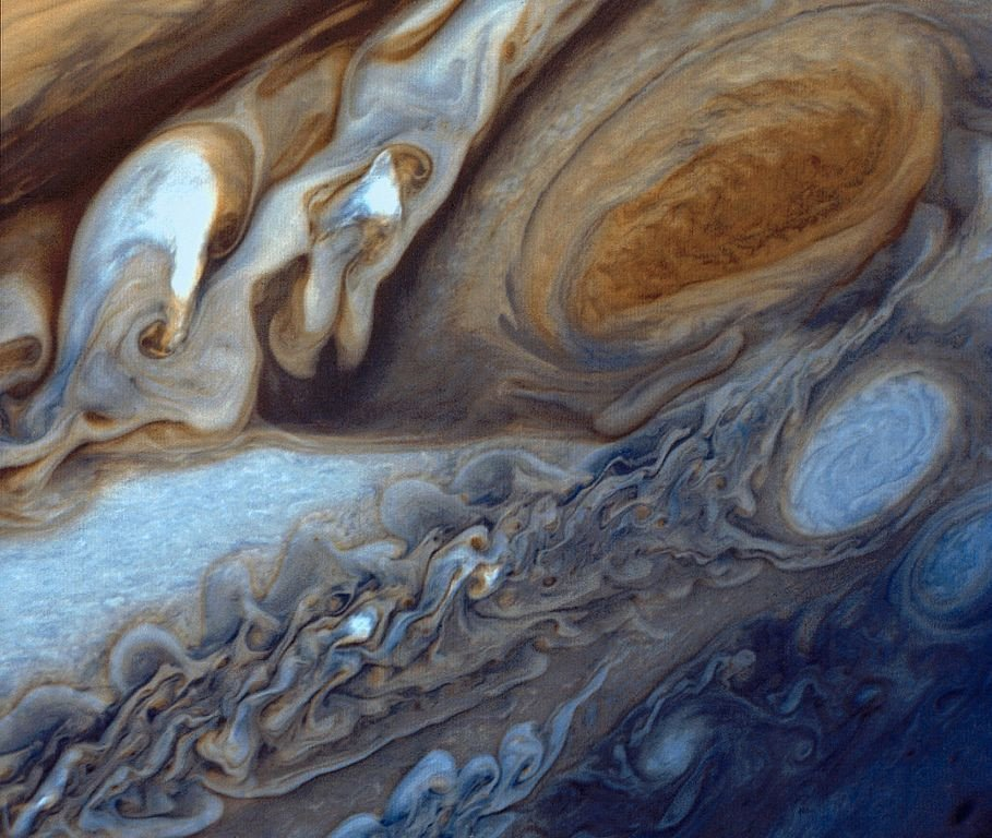 Jupiter Surface from Voyager 1