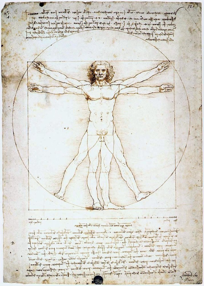 Leonardo da Vinci- Vitruvian Man