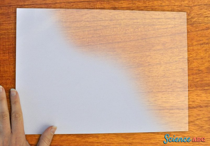 Why Does Grease Make Paper Transparent (Or Translucent )?