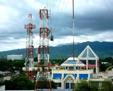 Zamboanga City Satellite Towers Smart and PLDT Compound