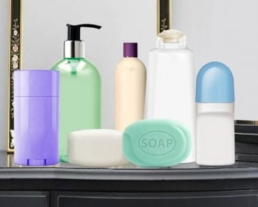 Types Of Soaps, Shampoo and deodorant