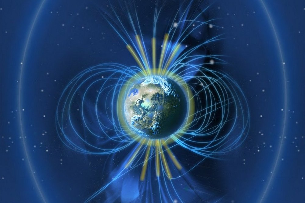 What Causes The Earth S Magnetic Field