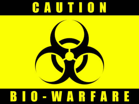 Caution Biowarfare