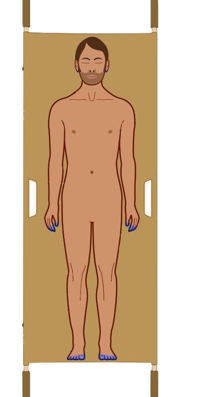 Dead human body