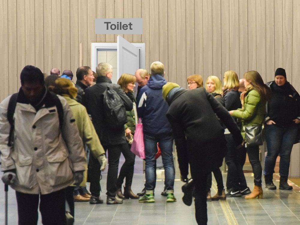 Why Do Doors Of The Bathroom Generally Open Inwards