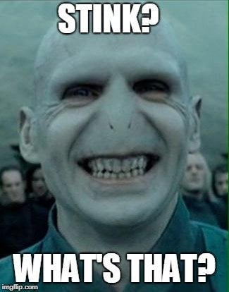 Stink what's that lord voldemort meme