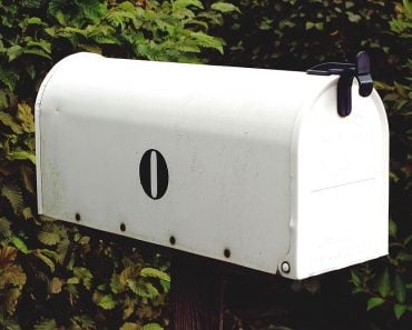 Zero on mail box
