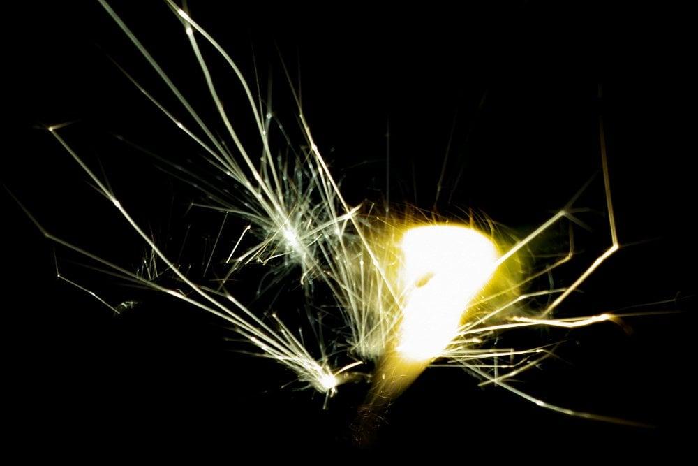 Ferrocerium spark