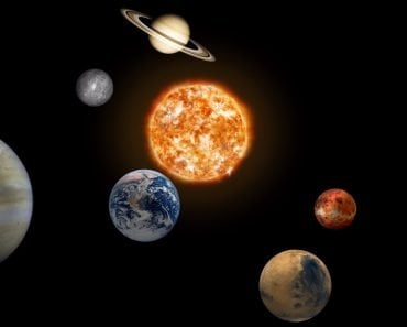 solar system, space, platet