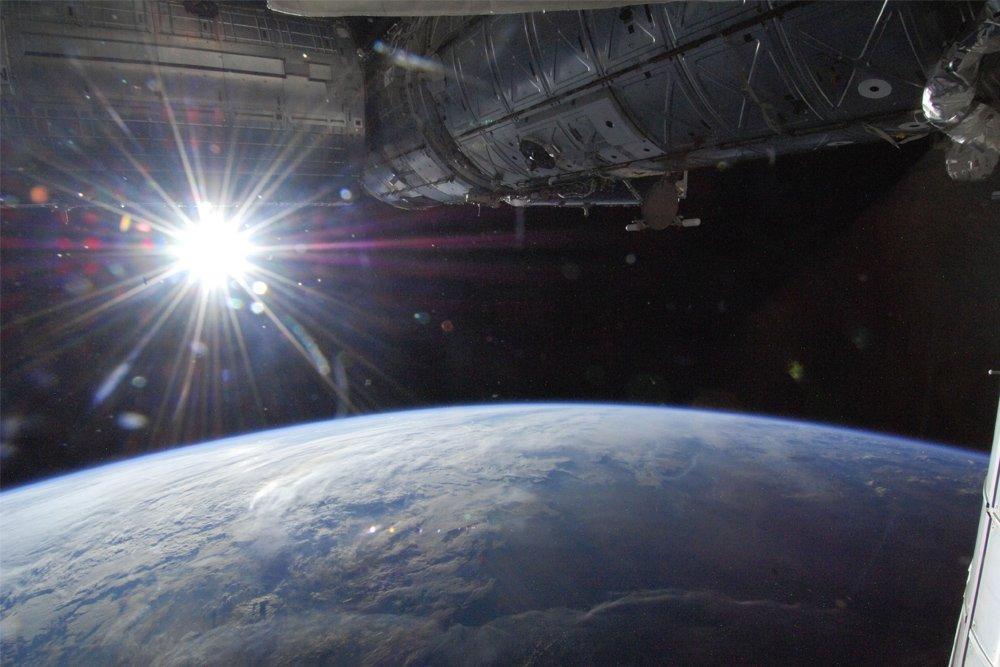 sun from earth
