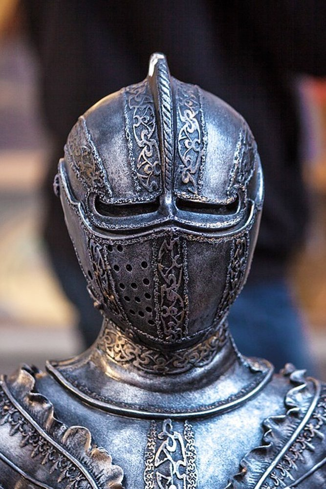 knight armor iiron chevalier metal