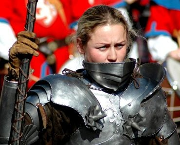 woman warrior armor tournament